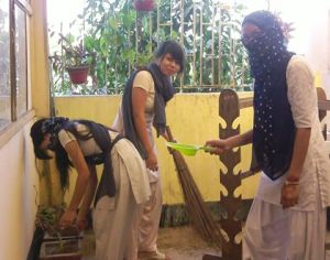 A cleanliness programme